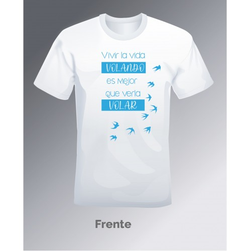 Camiseta Volando